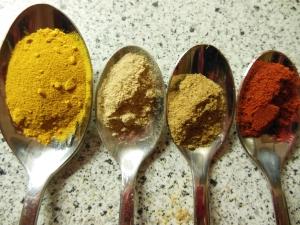 Specerijen voor aardappelpuree