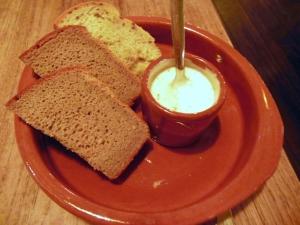 Glutenvrij brood met aioli