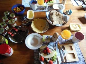 Ontbijt bij B&B de Schaepsgerwe