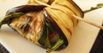 Gegrilde auberginepakketjes