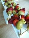 Chorizosticks met olijven