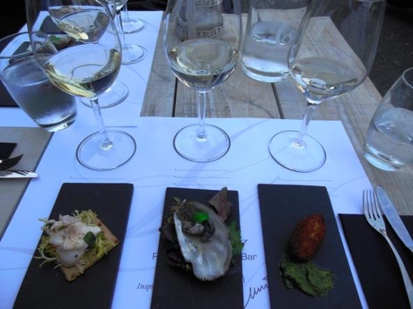 La Vina Wijnproeverij Taste mat pinchos witte wijn glutenvrij lactosevrij koemelkvrij